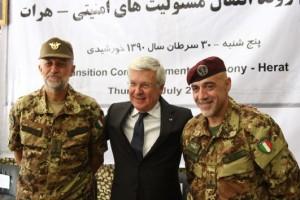 Passaggio di responsabilità nella città di HERAT, un primo passo importante per la Transizione dell'intero Afghanistan