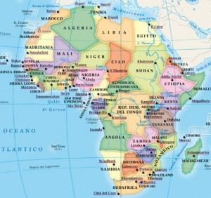 L'AFRICA: UN AMBIENTE OSTILE E UNA INCESSANTE RIVALITA' TRIBALE NE FANNO UN CONTINENTE MARTORIATO