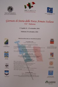 Giornate di Storia delle Forze Armate Italiane – VII^ edizione