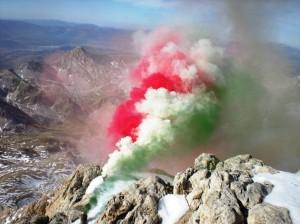GLI ALPINI DEL 9° REGGIMENTO SUL GRAN SASSO D'ITALIA