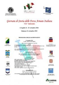GIORNATE DI STORIA DELLE FORZE ARMATE ITALIANE