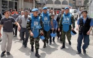 SIRIA: MISSIONE ONU DI  SUPERVISIONE