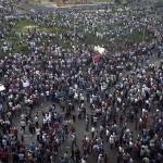 MANIFESTAZIONI ANTI MORSI IN EGITTO