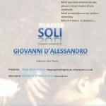 SOLI di Giovanni D'ALESSANDRO