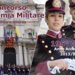 Esercito – concorso pubblico per l'ammissione di 100 Allievi al 195° corso dell'Accademia Militare nell'Anno Accademico 2013-2014