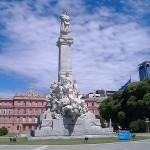 Monumento a Cristoforo Colombo a Buenos Aires: espropiato, incarcerato e sfrattato.
