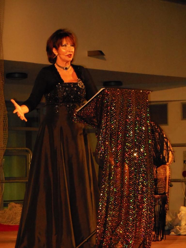 Standing ovation per Daniela Musini al festival internazionale Dannunziano