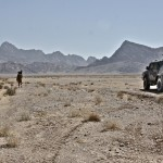 Bersaglieri in pattuglia nella provincia di Farah (repertorio)