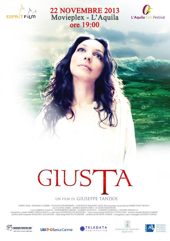 GIUSTA: UN FILM PER RECUPERARE UNA DELLE RADICI DELL'AQUILA