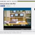 34 anni di RAI 3 Dec. 16 08.35
