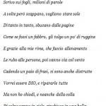 Poesia dalla casa Circondariale Mar. 28 15.40