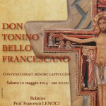 Locandina don Tonino Bello Francescano