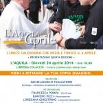 calendario 6 aprile 2014