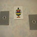 Il gioco delle tre carte  (foto L. Casale)