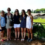ragazze a Pompei