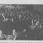 I Wienner Symphoniker e il coro di Vienna, diretti da von Karajan, nel 1950 in San Bernardino, eseguono la Missa Solemnis di Beethoven