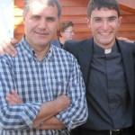 don Corrado Lorefice con don Federico Palmerini