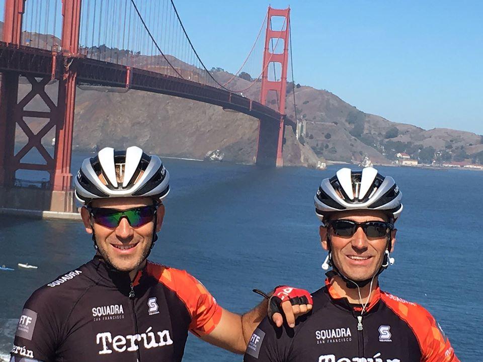 """""""Terùn"""", quel distintivo d'onore di tre meridionali che con pizza e bici hanno conquistato la Silicon Valley. E ora sognano la squadra """"Terùn"""" al Giro d'Italia."""