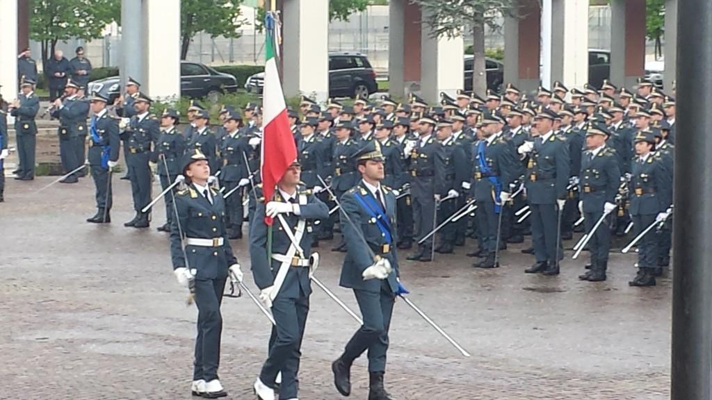 """Giuramento di Fedeltà alla Repubblica da parte degli Allievi Marescialli dell'87° Corso """"Cadore II°""""."""