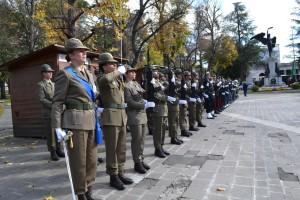 L'Aquila, 04 Novembre 2018. Giorno dell'Unità Nazionale e Giornata delle Forze Armate.