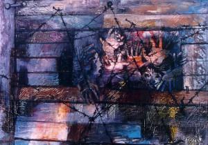 """TROINA (EN). Mostra – evento di Eva Fischer """"L'Arte diventa Memoria""""."""