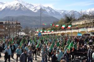San Gabriele (Teramo). 25° raduno degli alpini abruzzesi