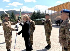 """BATTAGLIONE ALPINI """"ORTA"""". Nuova unità in organico al 9° reggimento alpini di stanza in L'Aquila."""