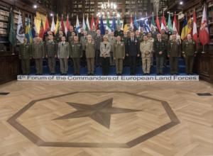 Difesa: quarto forum dei Capi di Stato Maggiore degli Eserciti europei.