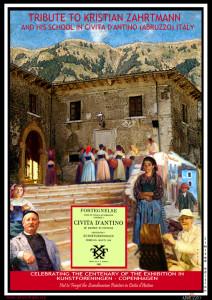 L'ITALIA NON DIMENTICA KRISTIAN ZAHRTMANN  A cento anni dalla scomparsa, il pittore danese è stato ricordato a Civita d'Antino, paese che elesse a sua seconda patria.