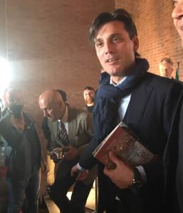 """ALL'ALLENATORE DEL MILAN VINCENZO MONTELLA IL PREMIO """"NILS LIEDHOLM""""."""