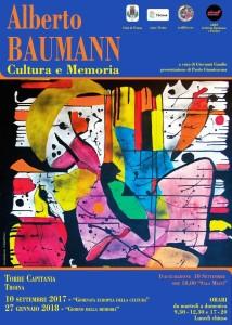 TROINA (ENNA). Giorno della Memoria 2018  Chiusura della mostra di Alberto Baumann : Cultura e Memoria