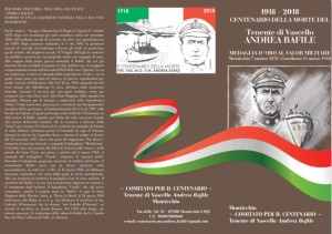 Celebrazioni in ricordo della Medaglia d'Oro al Valore Militare Andrea Bafile.