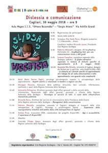 Dislessia e Comunicazione, un convegno a Cagliari