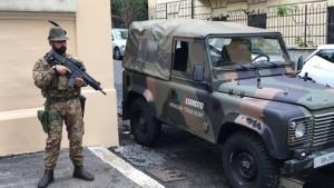 """Il 9° Reggimento Alpini ha assunto il comando della Task Force """"Roma II"""" nell'ambito dell'Operazione """"Strade Sicure""""."""