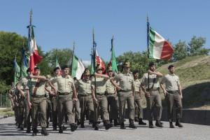 NERVESA DELLA BATTAGLIA (TV). Concluso il XXX raduno nazionale degli artiglieri d'Italia.