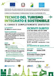 """L'Aquila, all'I.I.S. """"Amedeo d'Aosta"""" un Corso di formazione per Tecnici superiori per il turismo."""