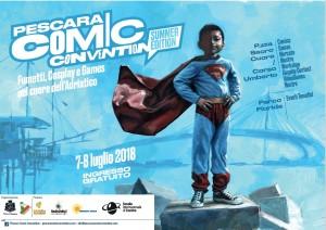 IL 7 e 8 LUGLIO PESCARA COMIC CONVENTION  Torna la manifestazione dedicata a fumetti, giochi e mondo cosplay.