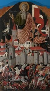 Sant_Andrea-e-la-battaglia-tra-ginesini-e-fermani_Nicola-di-Ulisse-da-Siena.