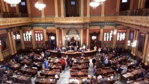 l'Aula del Parlamento del Michigan