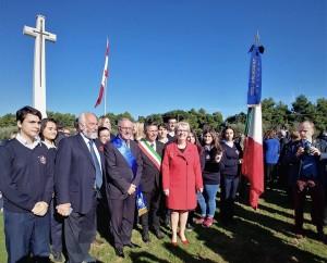 PAPAVERI ROSSI AD ORTONA PER IL REMEMBRANCE DAY  La commemorazione coincide con i cento anni dalla fine della Prima Guerra mondiale.