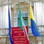 """Il cinquantennale del 150° corso """"Montello"""" all'accademia militare di Modena nei giorni 24 e 25 ottobre 2018."""