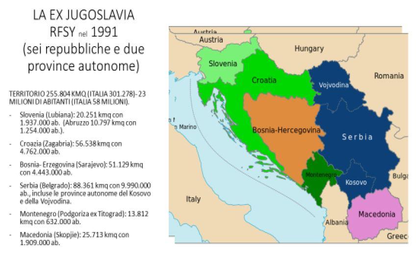 Cartina Jugoslavia.C Era Una Volta La Jugoslavia Vox Militiae