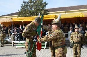 L'AQUILA. Cerimonia del Cambio del Comandante del 9° Reggimento Alpini.