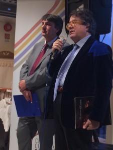 Peppe Zambito e Sebastiano Tusa.