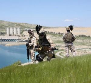Missione in IRAQ. I militari italiani lasciano la diga di Mosul.