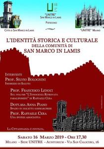 L'identità storica e culturale della Comunità Sammarchese narrata a Milano.