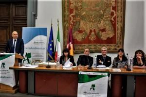 HAFEZ HAIDAR TRA GLI INSIGNITI DEL PREMIO ALBEROANDRONICO  A Roma, in Campidoglio, la premiazione dei vincitori il 15 marzo scorso.