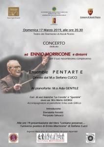 Ascoli Piceno, concerto omaggio per i 90 anni di Ennio Morricone ed altri eventi.
