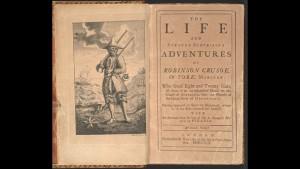Daniel Defoe e il suo Robinson Crusoe: trecento anni  e (non) li dimostra.