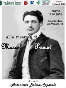 TERAMO. L'associazione Centro Ricerche Personalistiche presenta incontro con l'autore con attenzione a Marcel Proust, a cura di Dedda Balmas Caporale.